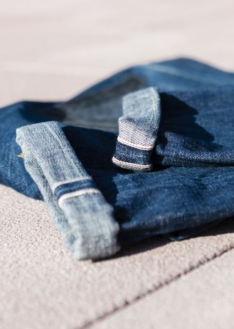 Selvedge denim - phi. denim
